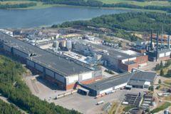 L'usine Sappi de Kirkniemi en Finlande