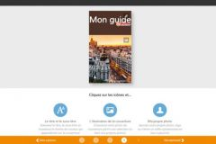 Capture écran de la personnalisation de la couverture de My Petit Futé.