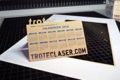 Un exemple d'application de la découpe laser sur papier.