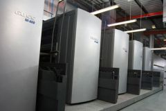 Goss exposera notamment la rotative haute productivité M-600 dédiée à l'impression labeur.