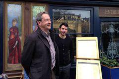 A gauche Patrick Wack, dirigeant de 5 Sept, et à droite Florent Di Nicola, directeur adjoint