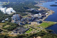 L'usine de Imatra en Finlande possède deux unités de production.
