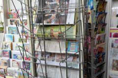 Les kiosques à journaux sont vides ce jeudi 26 mai.