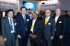 Koshi Hatano (Komori), Eiji Kajita (Komori), Allan Brown (Kodak), Hiroshi Fujiwara (Kodak), Chris O'Connor (Kodak).