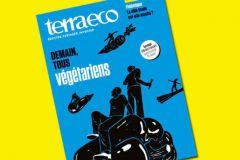 Le numéro 75 de Terra eco, daté de mars 2016, le dernier présenté sur le site.