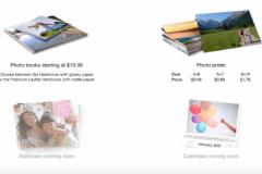 Capture d'écran du nouveau service d'impression photos Amazon Prints