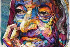 Les oeuvres de l'artiste russe Yulia Brodskaya sont entièrement réalisées à partir de papier plié.