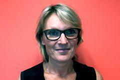 Karine Chaigneaud, pdg de l'imprimerie Drapeau Graphic.