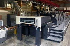 La remise à neuf de la Speedmaster XL 105 8 couleurs à retiration s'est terminée dans l'atelier de l'imprimerie.