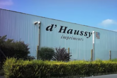 L'imprimerie D'Haussy a été placée en redressement judiciaire le 27 juillet 2016.