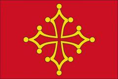 La croix occitane avec ses 4 branches de même longueur.