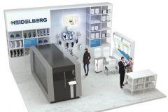 L'Omnifire 1000 (à gauche) sera la machine phare du stand Heidelberg au salon InPrint 2016.