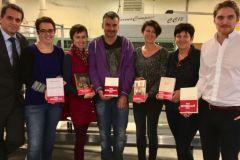 Un planning chargé pour l'imprimerie Floch qui imprime 6 prix littéraires en cette rentrée 2016.