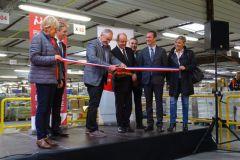 La plateforme de Mediapost a été inaugurée le 20 octobre 2016.