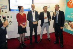 CGP Etiqroll a reçu le Prix spécial de l'innovation lors de la remise des trophées le 16 novembre au salon All4Pack Paris.