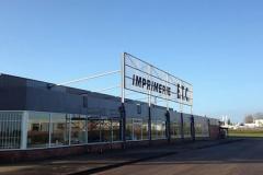 L'imprimerie ETC-INN a été placée en redressement judiciaire le 23 septembre 2016.