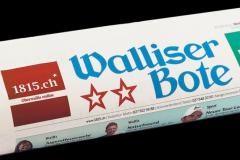 Le quotidien régional suisse Walliser Bote ne sera plus imprimé en numérique.