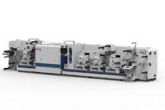 Presse jet d'encre UV hybride Domino/ABG N610i.