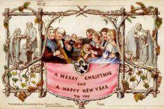 Grâce au timbre postal et à la lithographie, Henry Cole inventa la carte de Noël pour gagner du temps.