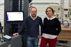 Jérôme et Maryline Gonnet, frère et sœur, dirigeants de l'imprimerie Gonnet fondée en 1992 par leurs parents.
