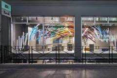 Une salle d'exposition du papetier GF Smith vient d'ouvrir ses portes à Londres