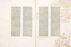 Parmi les livres volés, cette copie annotée de De Intensione et remissione formarum (1476-77)