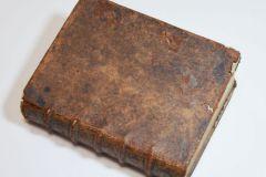 Edition originale du Discours de la Méthode de Descartes (1637) dans sa reliure d'époque, en veau.