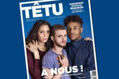 Le numéro 213 de mars-avril 2017 de Têtu.