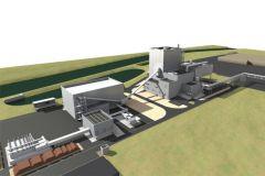 Modélisation de la centrale biomasse sur le site de la papeterie Gemdoubs.