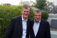 Jean-Pierre Leveaux (à gauche) et Philippe Bourgeois.