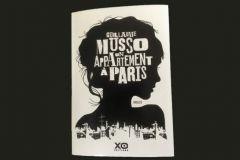 Couverture d'Un appartement à Paris de Guillaume Musso.