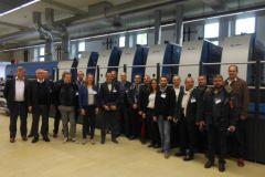 25 imprimeurs français se sont rendus en allemagne pour découvrir les solutions LED-UV labeur et packaging.