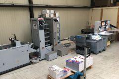 Atelier de façonnage de l'imprimerie Multis