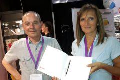 Christian Guittonneau et Patricia Delayat, technico-commerciaux à Clément.