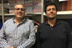Georges Aflalo et Eric Journo (de gauche à droite), dirigeants de Margy Consultants.