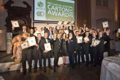 Remise des prix Pro Carton Young Designers Award.