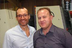 Jean-Philippe Neuville (à gauche) et Emmanuel Gaillard, les nouveaux dirigeants de l'imprimerie SEIC.