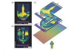 Exemple de double impression de 0,35mm sur 0,56 mm réalisée par l'équipe de chercheurs de l'Université de Glasgow.