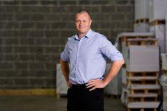 Christophe Dudit, président de l'imprimerie Cloître