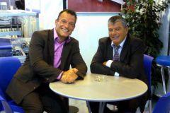 Pierre Das Neves et son père Miguel à la tête d'ABI Graphique.