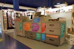 Presse numérique Ricoh Pro C7100X dédiée à l'impression de livres en point de vente (Orséry)