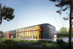 Baptisé Carbon 2.0, le bâtiment accueillera Sÿnia en août 2018.