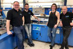 L'équipe de BC2S dirigée par Bruno Collos dans l'atelier basé à Lieusaint en Seine-et-Marne