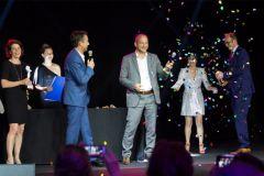 Remise du Grand Prix de la création lors du gala Popai Awards Paris 2018