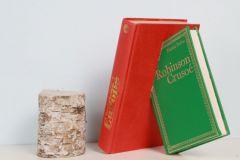 Sculpture de livres de Didier Barnier.