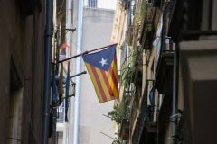 Drapeau catalan.