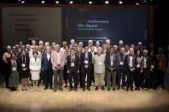 Membres de l'Association internationale des musées de l'imprimerie.