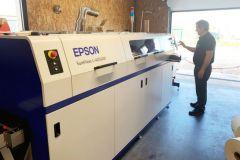 L'Imprimerie Roux (33) se renforce sur l'étiquette avec Epson