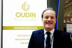 Georges deTudert, directeur commercial de la cartonnerie Oudin