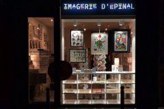 Boutique éphémère de l'Imagerie d'Epinal à Paris en 2016